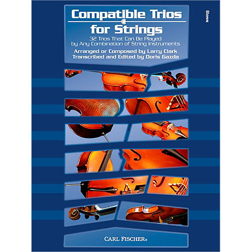 Carl Fischer Compatible Trios for Strings - Bass (Book)-thumbnail