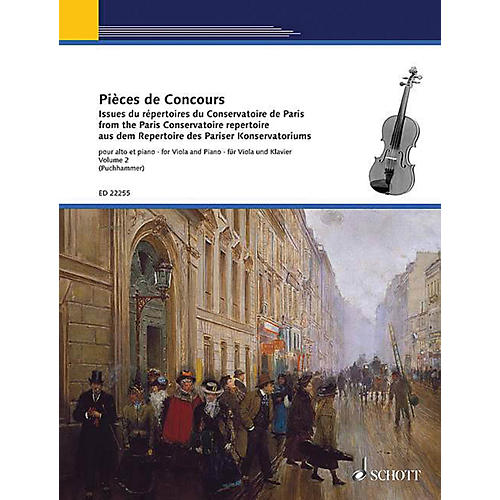 Schott Competition Pieces Book 2 (for Viola and Piano) String Series Softcover Composed by Various