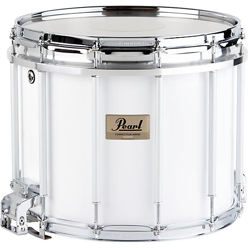 open box pearl competitor high tension marching snare drum white 13 x 11 in high tension. Black Bedroom Furniture Sets. Home Design Ideas