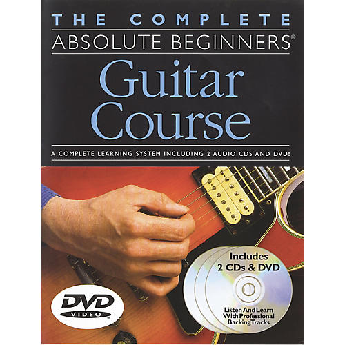 Music Sales Complete Absolute Beginners Guitar Course (Book/CD/DVD)