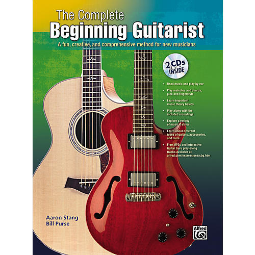 Alfred Complete Beginning Guitar Book/Double CD Set-thumbnail