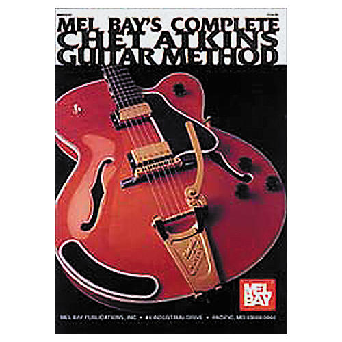 Mel Bay Complete Chet Atkins Guitar Method (Book/CD)-thumbnail