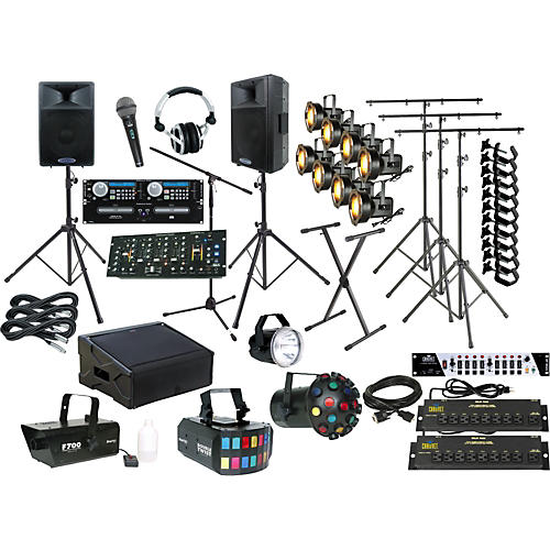Lighting Complete DJ Sound and Lighting Package