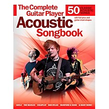 Music Sales Complete Guitar Player Acoustic Songbook