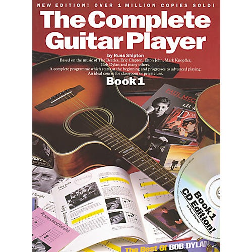 Music Sales Complete Guitar Player Book 1 with CD (New Edition)