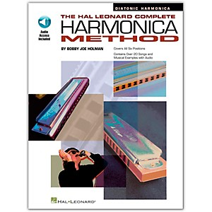 Hal Leonard Complete Harmonica Method - Diatonic Harmonica Book/Online Aud... by Hal Leonard