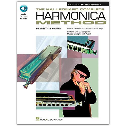 Hal Leonard Complete Harmonica Method Book/CD Chromatic Harmonica