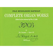 Music Sales Complete Organ Works - Volume IV Music Sales America Series Softcover
