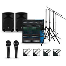 Yamaha Complete PA Package with MG20XU Mixer and Mackie Thump Speakers