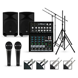 Mackie Complete PA Package with Mix8 8-channel Mixer and Thump Series Power... by Mackie