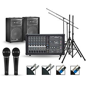 Phonic Complete PA Package with Powerpod 780 Plus Mixer and JBL Speakers by Phonic