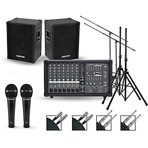 Phonic Complete PA Package with Powerpod 780 Plus Mixer and Kustom KPC Seri... by Phonic