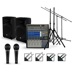 Presonus Complete PA Package with StudioLive AR12 Mixer and Mackie Thump Sp...