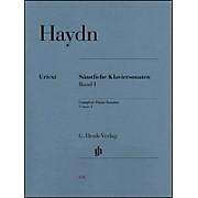 G. Henle Verlag Complete Piano Sonatas - Volume 1 By Haydn