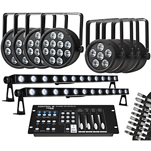 Proline Complete RGB LED Lighting Package with ThinTri64, ThinTri38, TriStr...