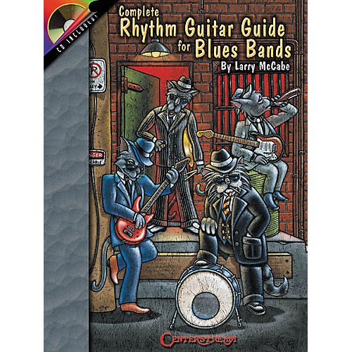 Centerstream Publishing Complete Rhythm Guitar Guide for Blues Bands (Book/CD)