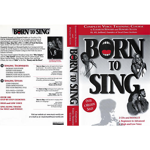 Born to Sing Complete Voice Training Course (Booklet + 2 CDs)-thumbnail
