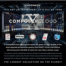 EastWest ComposerCloud Monthly Subscription