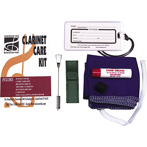 Woodwind & Brasswind Composite Clarinet Care Kit-thumbnail