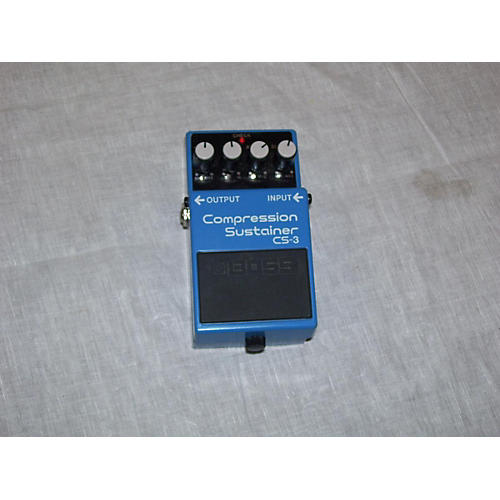 Boss Compression Sustainer CS-3 Effect Pedal