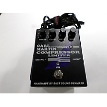 Carl Martin Compressor/Limiter Effect Pedal