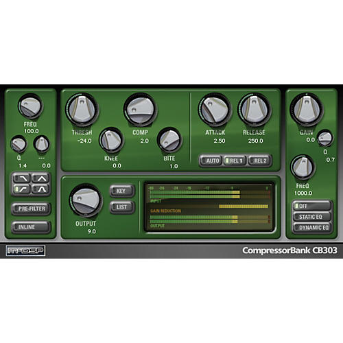 McDSP CompressorBank Native v6 Software Download