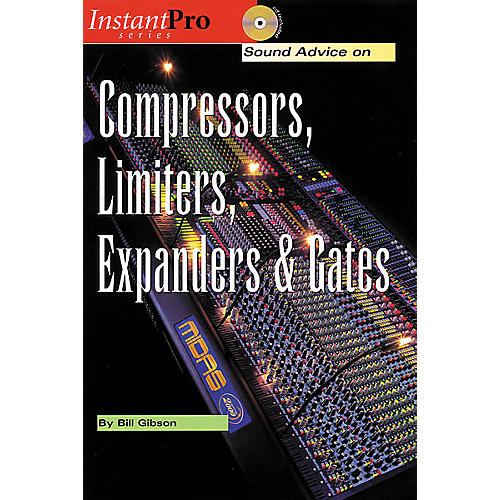 Hal Leonard Compressors, Limiters, Expanders and Gates (Book/CD)-thumbnail
