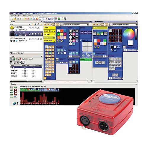 Elation Compu 2048FC PC DMX Lighting Control System