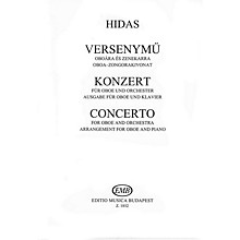 Editio Musica Budapest Conc (Oboe and Piano Reduction) EMB Series by Frigyes Hidas
