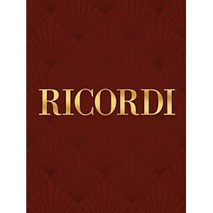 Ricordi Conc in B Flat Maj for Bassoon Strings and Basso Cont La Notte RV50... by Ricordi
