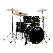 Concept Maple by DW 5-Piece Shell Pack Pearlescent Black