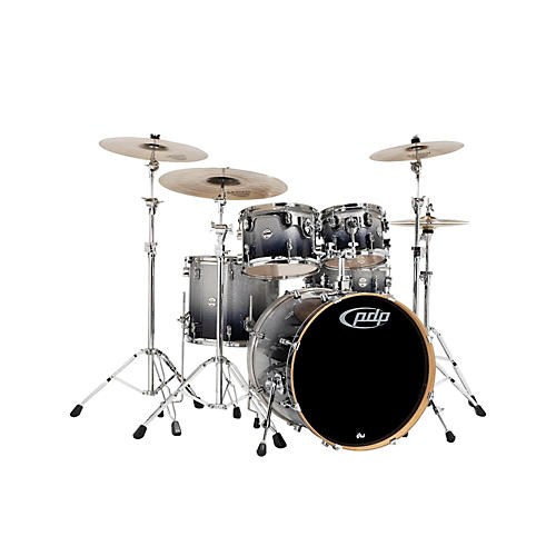 PDP by DW Concept Maple by DW 5-Piece Shell Pack Natural to Charcoal Fade-thumbnail