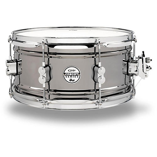 PDP by DW Concept Series Black Nickel Over Steel Snare Drum-thumbnail