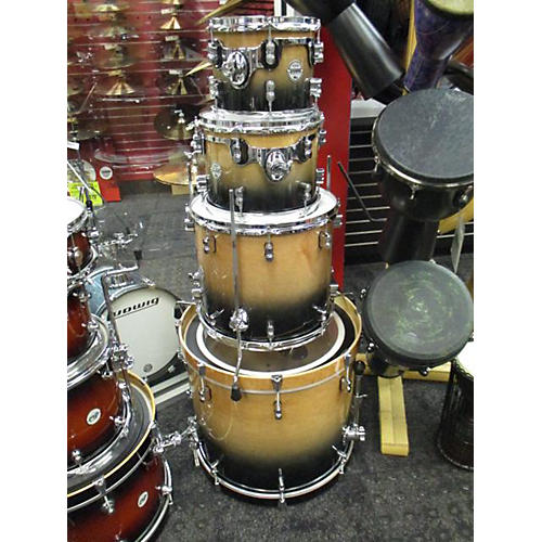 Used Pdp By Dw Concept Series Drum Kit Charcoal To Natural