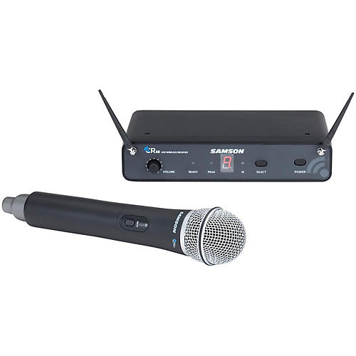 Samson Concert 88 Wireless Handheld System with Q7 Handheld Dynamic Microphone-thumbnail