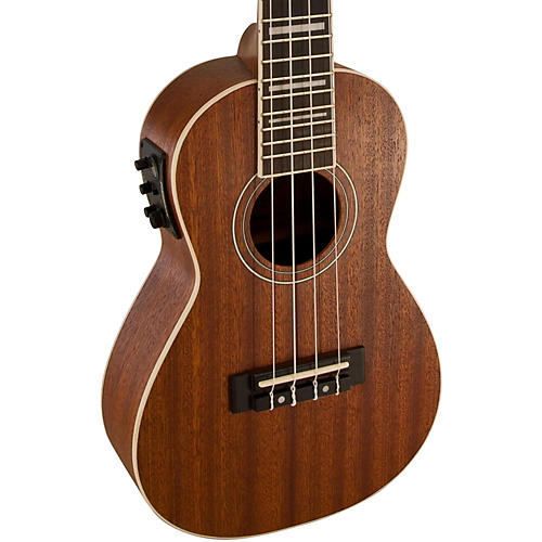 Lanikai Concert All-Mahogany Acoustic-Electric Ukulele with USB
