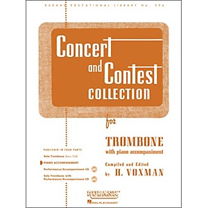 Hal Leonard Concert and Contest Collection for Trombone - Piano Accompanime... by Hal Leonard