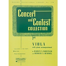 Hal Leonard Concert And Contest Collection for Viola Solo Part Only