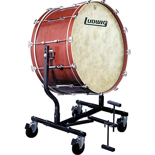Ludwig Concert Bass Drum w/ Fiberskyn Heads & LE787 Stand-thumbnail