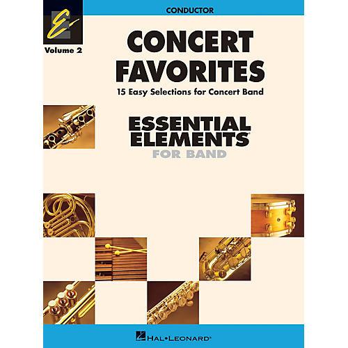 Hal Leonard Concert Favorites Vol. 2 - Value Pak Concert Band Level 1-1.5 Arranged by Michael Sweeney