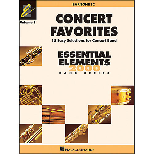 Hal Leonard Concert Favorites Vol1 Baritone T.C.-thumbnail