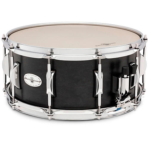 Black Swamp Percussion Concert Maple Shell Snare Drum Black Nickel-Over-Steel 14 x 6.5 in.