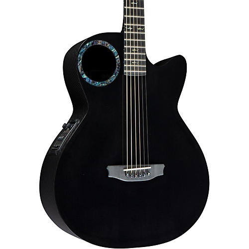 RainSong Concert Series CO-WS1005NS Acoustic-Electric Guitar Black