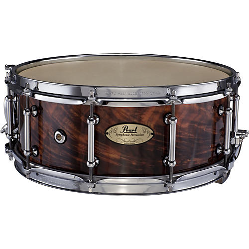 Pearl Concert Series Maple Snare Drum with SR-017 Strainer-thumbnail