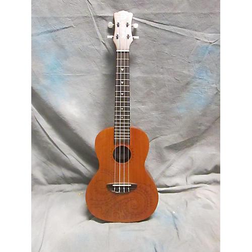 Luna Guitars Concert Tattoo Ukulele-thumbnail