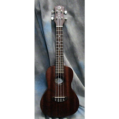 Luna Guitars Concert Tattoo Ukulele