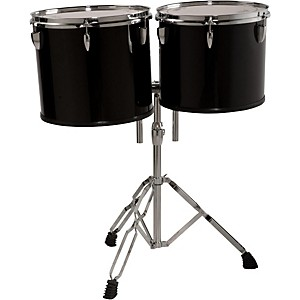 Sound Percussion Labs Concert Tom Set 13 inch and 14 inch with Stand by Sound Percussion Labs