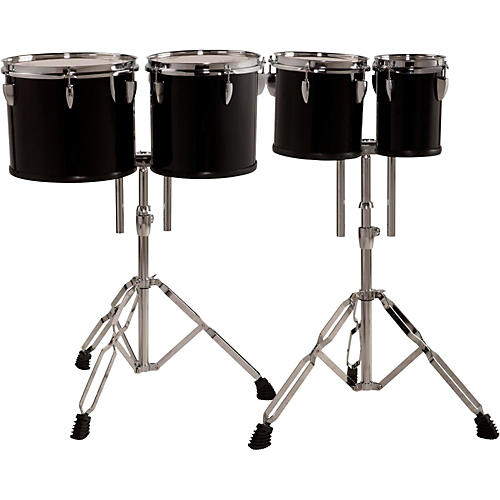 Sound Percussion Labs Concert Tom Set with Stands, 6, 8, 10 and 12 in.-thumbnail