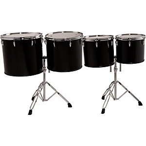 Sound Percussion Labs Concert Tom Set with Two Stands, 13, 14, 16 and 18 in...