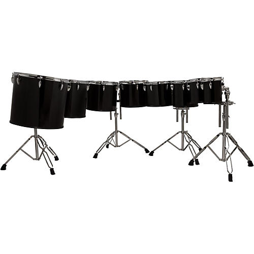 Sound Percussion Labs Concert Tom set 6/8/10/12/13/14/16/18 with Four Stands